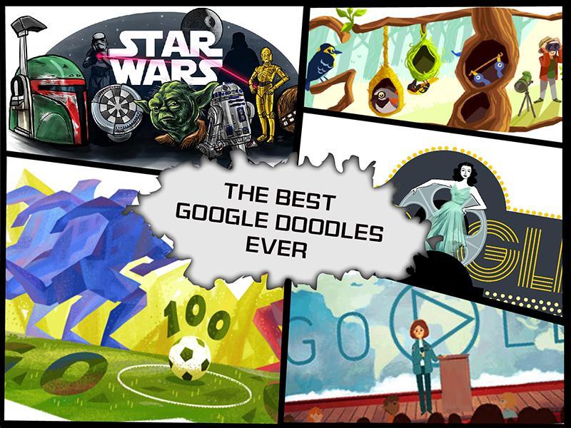 The Best Google Doodles Ever
