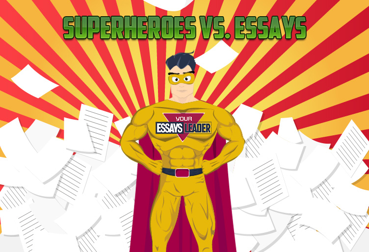 Superheroes vs. Essays