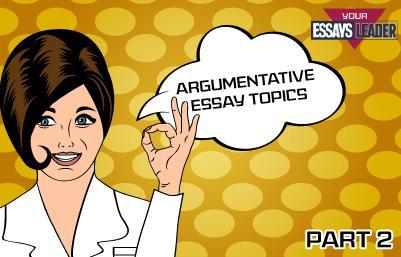 Argumentative topics 1