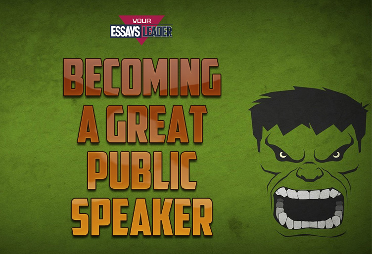 Becoming a Great Public Speaker