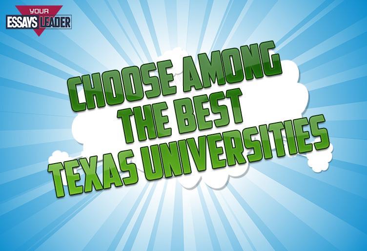 Choose among the Best Texas Universities