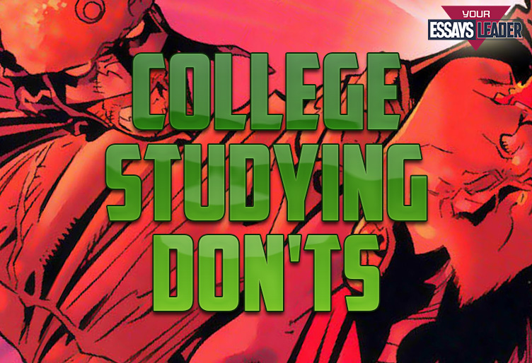 5 College Studying Don'ts