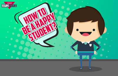 Happy student small