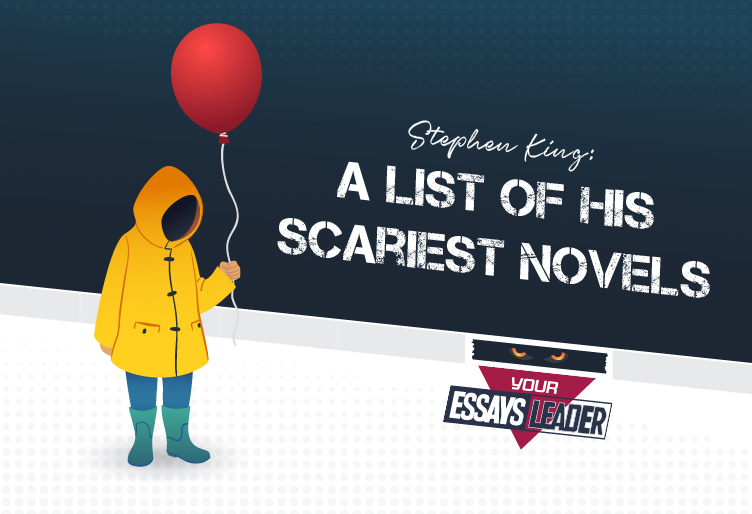 Stephen King A List of His Scariest Novels