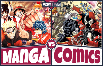 Manga vs Comics