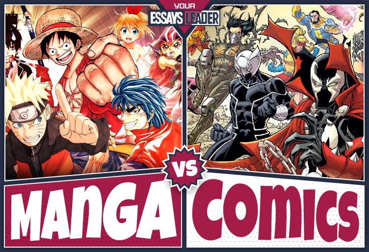 How Do Manga and American Comics Differ